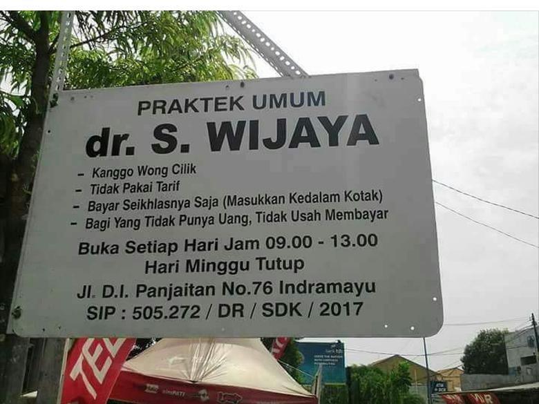Ini Cerita Pasien Dokter 'Wong Cilik & Bayar Seikhlasnya' di Indramayu yang Viral