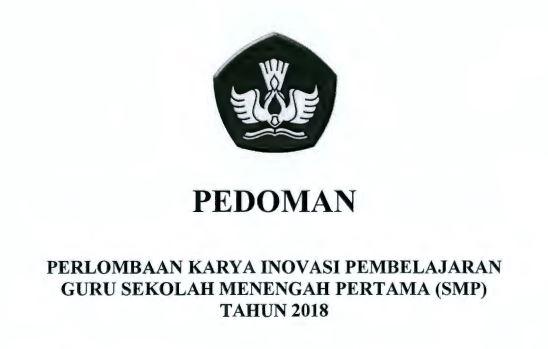 Download Pedoman INOBEL SMP Tahun 2018