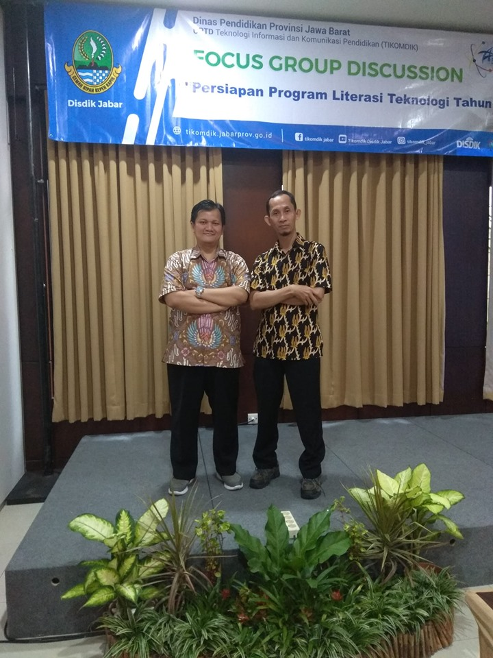 FGD Persiapan Program Literasi Teknologi Dinas Pendidikan Provinsi Jawa Barat